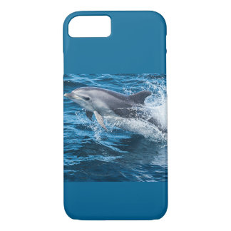 Dolphin Splashing iPhone 7 Case