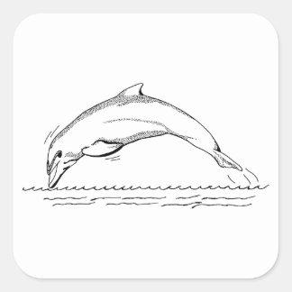 Dolphin Square Sticker