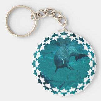 Dolphin Star Keychain