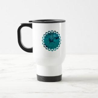 Dolphin Star Plastic Travel Mug