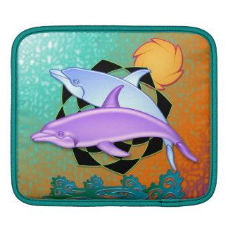 Dolphin Sun Rickshaw Sleeve Sleeves For iPads