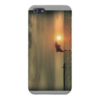 Dolphin Sunset - Iphone Case