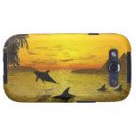 Dolphin Sunset Samsung Galaxy S3 Vibe Case Samsung Galaxy S3 Case
