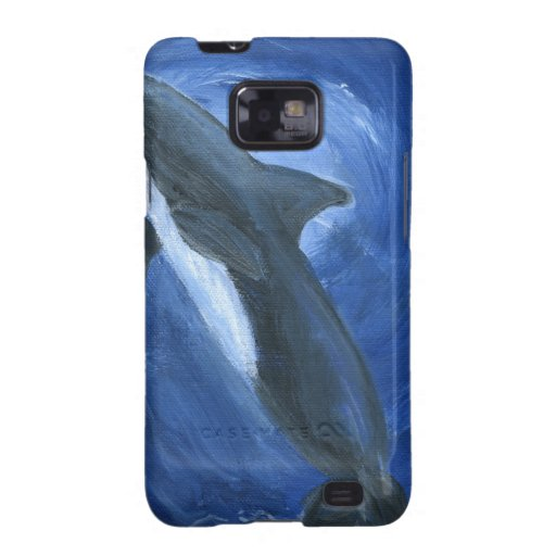 Dolphin Swimming Galaxy SII Cases