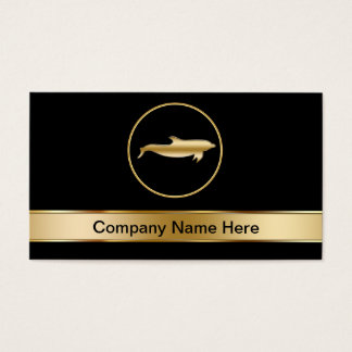 Dolphin Symbol Business Cards