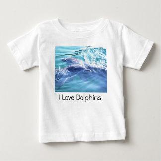 "Dolphin T-Shirt ""I love Dolphins"""