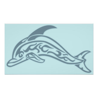 Dolphin Tattoo Poster