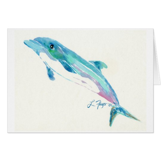 Dolphin Thank You Card
