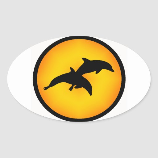 DOLPHIN THE AMAZING STICKER