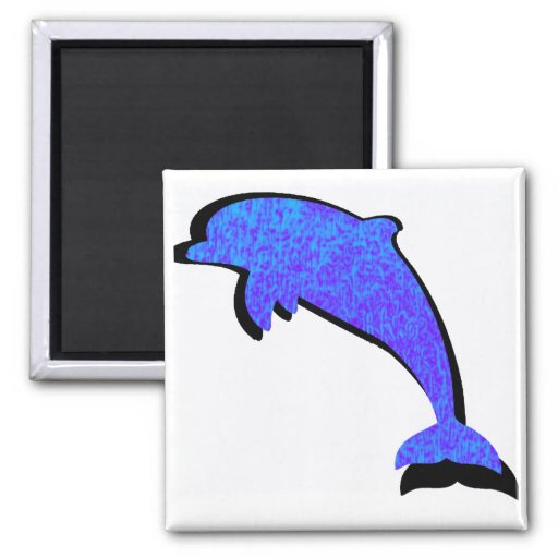 DOLPHIN THE SOLSTICE MAGNET