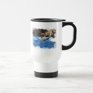 Dolphin Tricks Plastic Mug