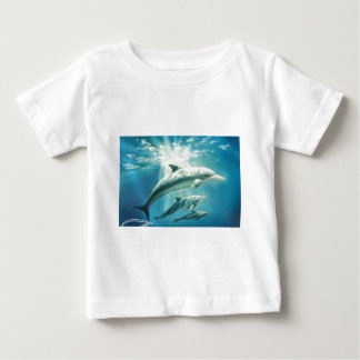 Dolphin Trio Baby T-Shirt