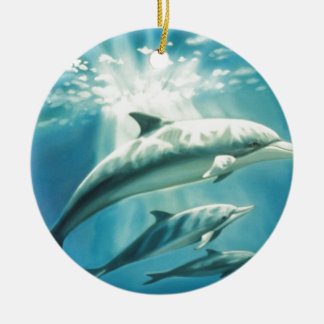Dolphin Trio Christmas Ornament