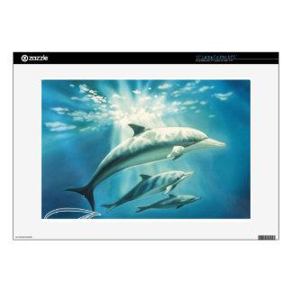 Dolphin Trio Skin For Laptop