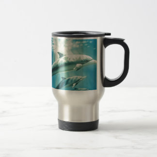 Dolphin Trio Travel Mug