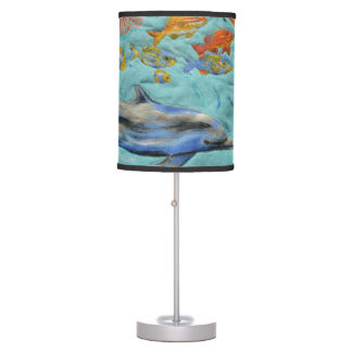 Dolphin Under The Sea Lamp