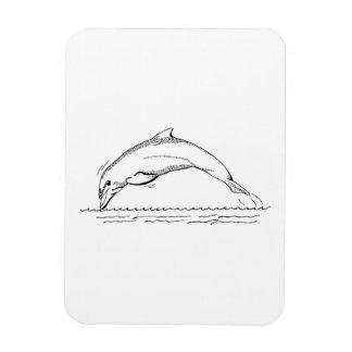 Dolphin Vinyl Magnets