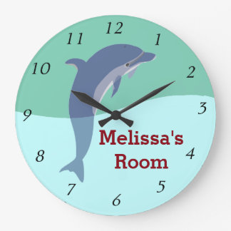 Dolphin Wall Clock - Personalized