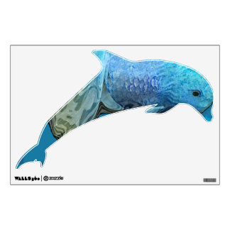 dolphin room graphic