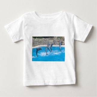 Dolphin Water Beach Tropical Paradise Island Fish Baby T-Shirt