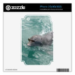 Dolphin with glasses.jpg decal for the iPhone 3