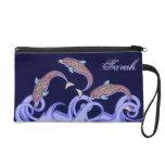 Dolphin Wristlet Bag