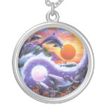 Dolphin YinYang Necklace