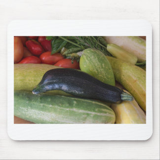 Dolphin Zucchini Mouse Pad