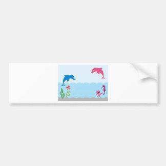 DolphinAF4 Bumper Sticker