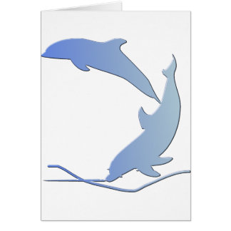 Dolphine's Save Our Wildlife Card