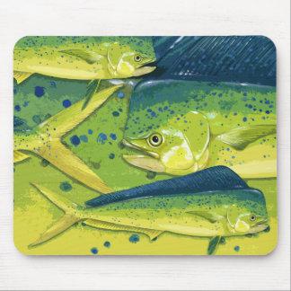 Dolphinfish (mahi mahi) mouse pad