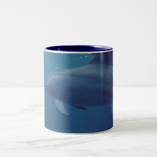 Dolphins 022 Two-Tone coffee mug