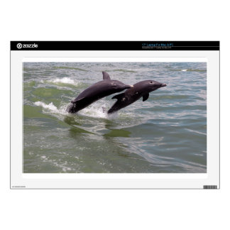"Dolphins 17"" Laptop Decals"