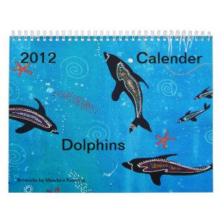 Dolphins 2012 Calender Wall Calendar
