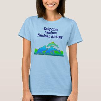 Dolphins Against Nuclear Energy Anti-Nuke T-shirt