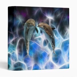 Dolphins and fractal crystals binders