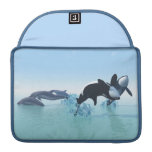 Dolphins and Orca's MacBook Pro Sleeve
