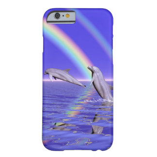 Dolphins and Rainbow Barely There iPhone 6 Case