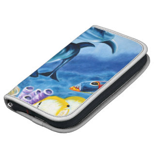 Dolphins and Tropical Fish Art Planners