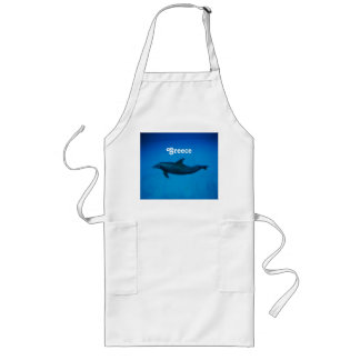 Dolphins Long Apron