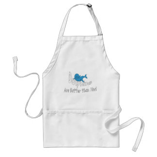 Dolphins Are Better Than You (clear text) Adult Apron