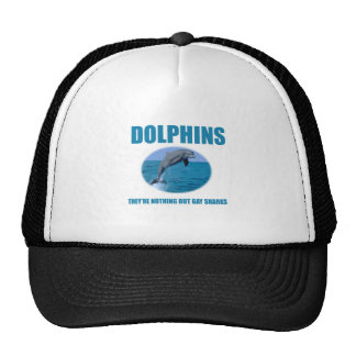 Dolphins are gay sharks trucker hat