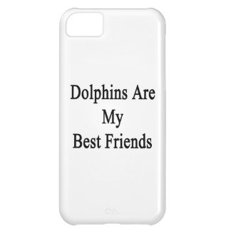 Dolphins Are My Best Friends Cover For iPhone 5C