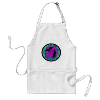 DOLPHINS ARE SPECTACULAR ADULT APRON