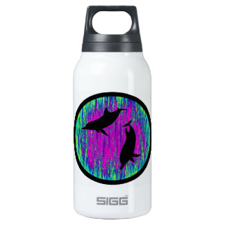 DOLPHINS ARE SPECTACULAR 10 OZ INSULATED SIGG THERMOS WATER BOTTLE