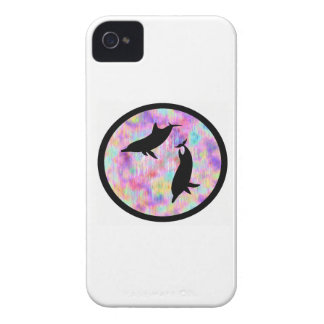 DOLPHINS AT DAYBREAK iPhone 4 Case-Mate CASES