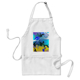 Dolphins at Play.JPG Adult Apron