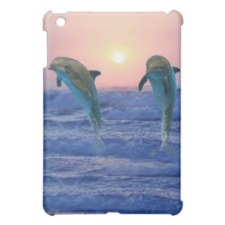 Dolphins at sunrise case for the iPad mini