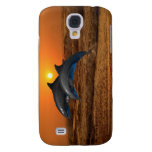 Dolphins at sunset galaxy s4 case