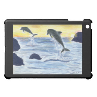 Dolphins at Sunset Speck Case Case For The iPad Mini